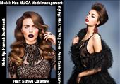 Model:Irina MUGA Modelmanagement,Hair: Schiwa Qalanawi,Make-Up: Hannah Burckhardt,Styling:MALTSEVA,Dress:Anna Kania Couture