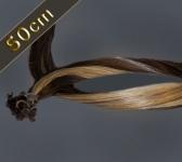 25 Strähnen Bonding Extensions Glatt (ca. 50cm)