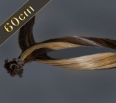 25 Strähnen Bonding Extensions Glatt (ca. 60cm)