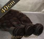 Brazil Wavy Echthaar-Tresse 100g (ca.40cm)