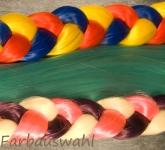 Indian Colour Braid  loses Kunsthaar 85g (ca. 60cm)