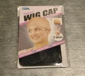 2 Wig Caps (schwarz)