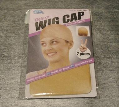 2 Wig Caps (beige)