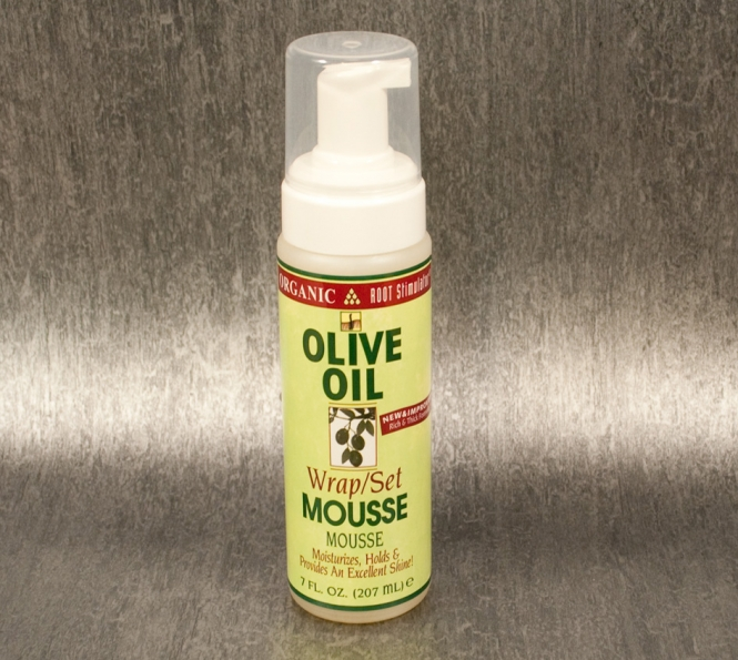 Organic Olive Oil Wrap Mousse (207ml)