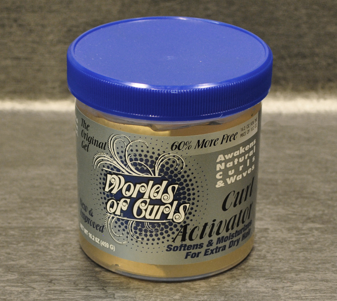 World of Curls Gel Activator Extra Dry (459g)