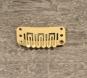 Toupetclip beschichtetes Metall 3,4 cm x1,5cm